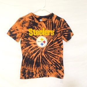 Custom dyed Steelers tshirt